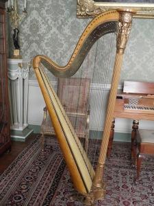 Harp in Culzean Castle