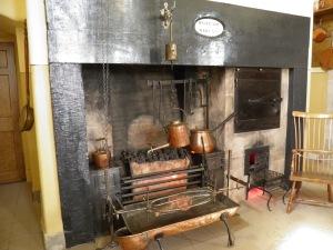 Kitchen hearth in Culzean Castle