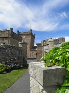 Culzean Castle courtyard