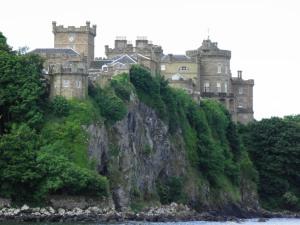 Culzean Castle on the cliffs
