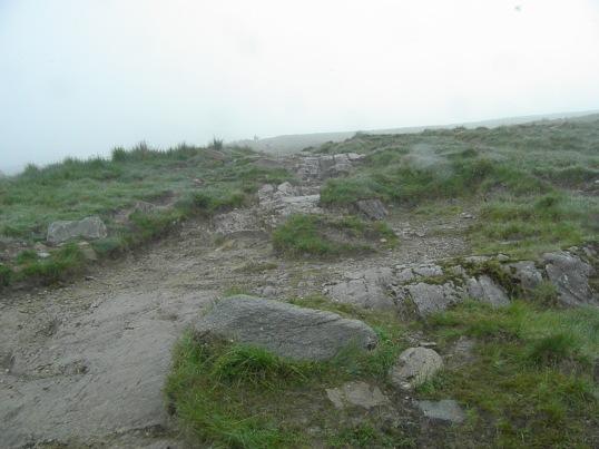 The path up Ben Lomond