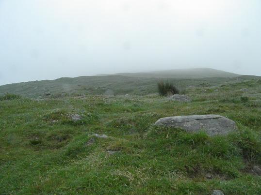 Looking towards the summit of Ben Lomond