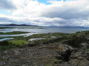 Thingvallavatn from the viewpoint
