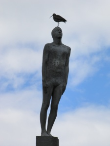 Memorial Statue at Vik