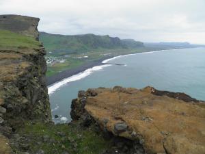 Vik coastline