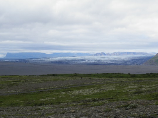Looking across to the Skeiðarárjökull glacier
