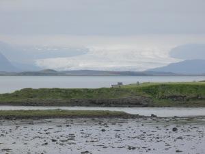 Vatnajökull glacier viewed from Höfn