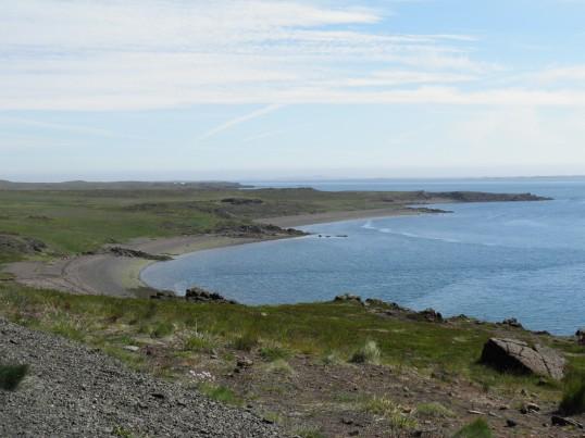 Eastern coastline