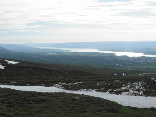 Egilsstaðir from the view point