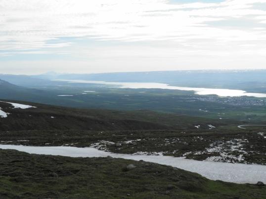 Egilsstaðir from the view point