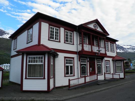 Office building in Seyðisfjörður