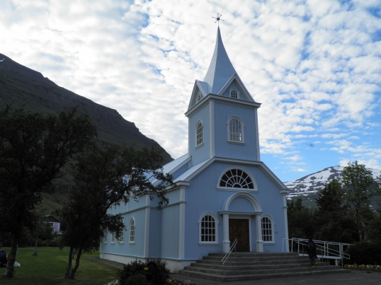 Seyðisfjörður kirk