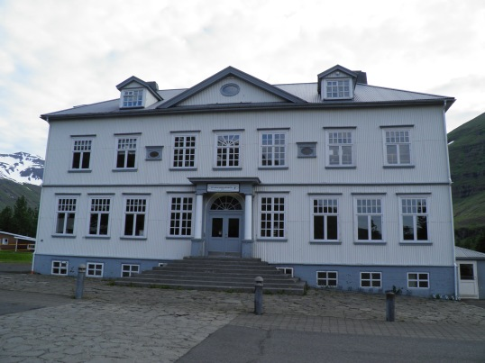 Building in Seyðisfjörður