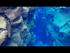 Silfra fissure under water