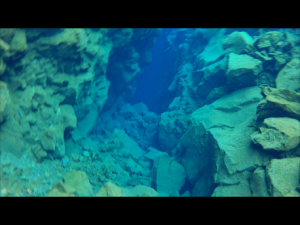 Snorkelling Silfra fissure