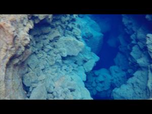 Silfra fissure snorkel