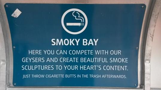 Sign at Reykjavik harbour