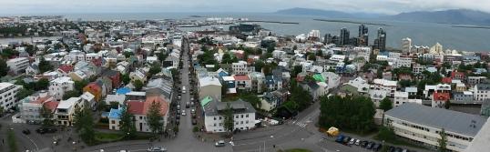 Reykjavik panorama west