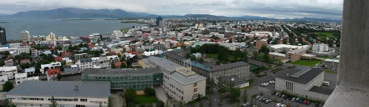 Reykjavik panorama north