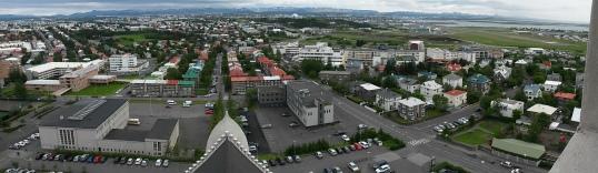 Reykjavik panorama east
