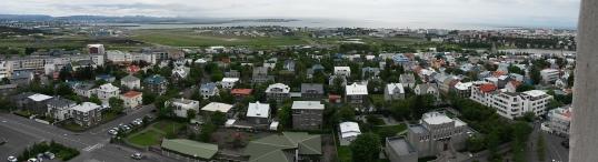 Reykjavik Panorama south