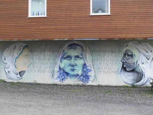 Street art in Seyðisfjörður