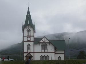 Church in Husavik