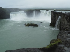The various falls of Godafoss