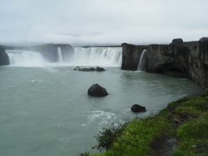Downstream from Godafoss