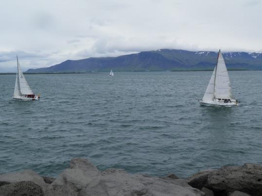 Sailing at Reykjavik
