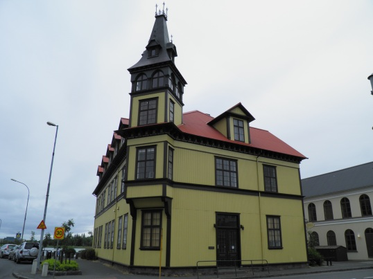 Building in Reykjavik's Old Town