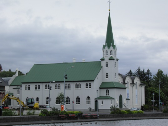 Church at Tjornin