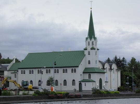 Church at Tjornin