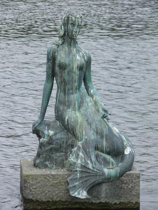 Reykjavik's Little Mermaid