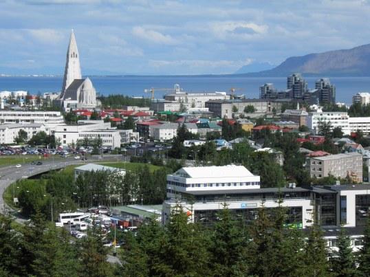 Reykjavik from Perlan