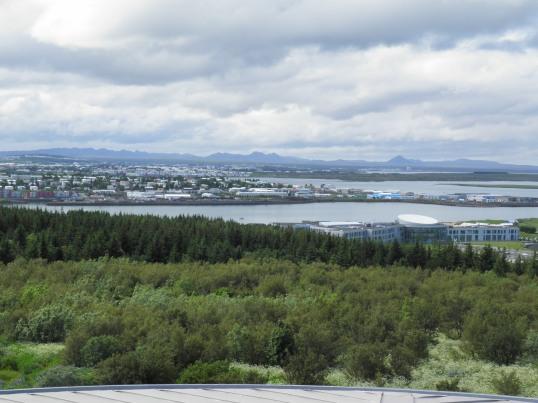 South Reykjavik from Perlan