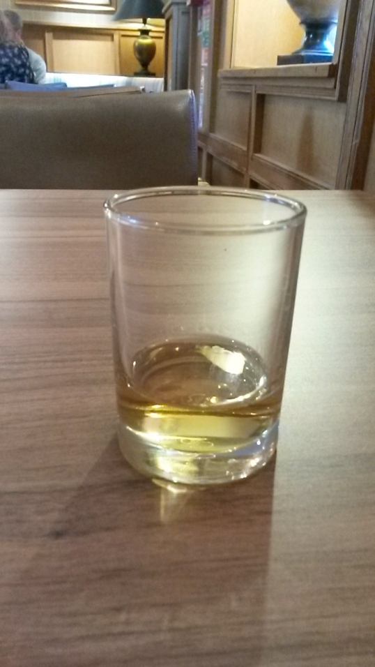 A dram of Glengoyne whisky