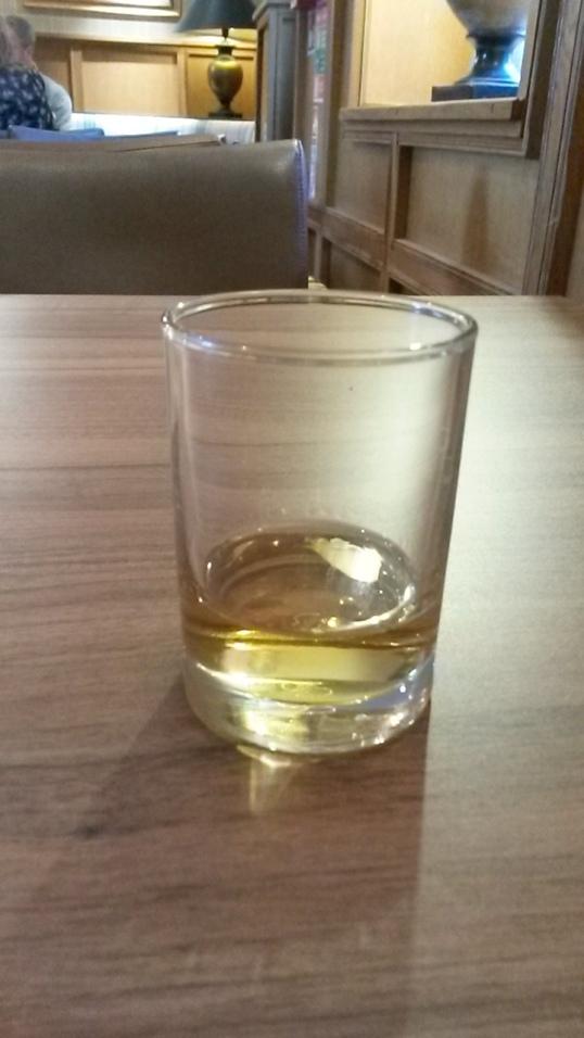 A dram of Glengoyne whisky