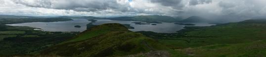 Conic Hill summit panorama
