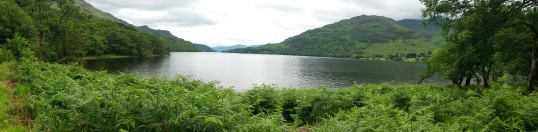 North Loch Lomond panorama