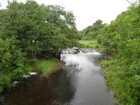 Weir at Gartness