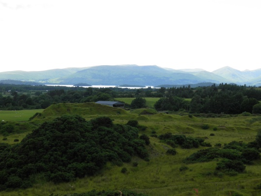 First sighting of Loch Lomond