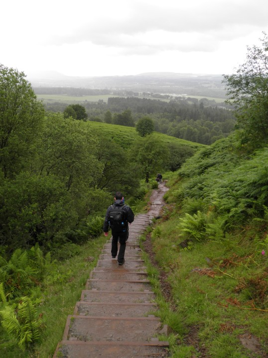 Descending from Conic Hill