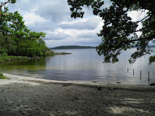 Bonnie banks of Loch Lomond near Rowardennan