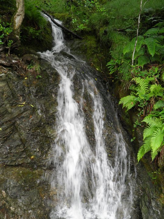 Waterfall by the WHW