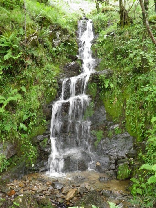 Waterfall next to the WHW