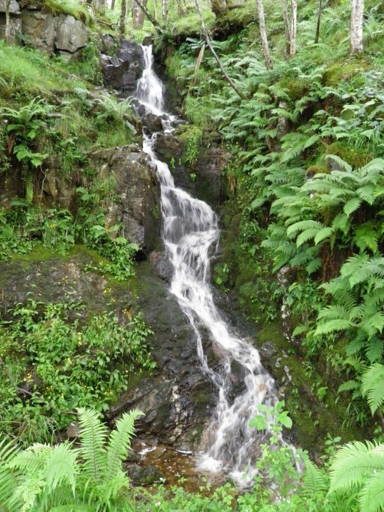 Another waterfall by the WHW