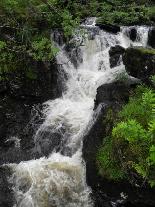 Waterfall at Inversnaid