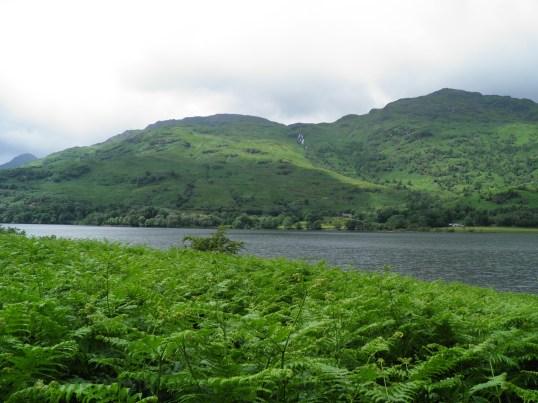 Looking across Loch Lomond