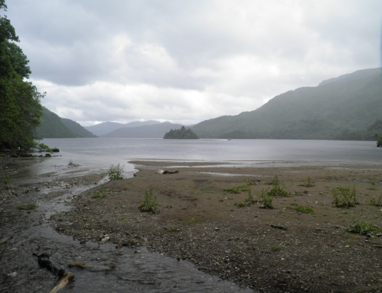 Looking south down Loch Lomond